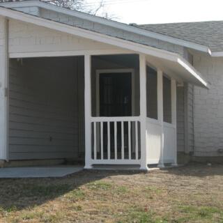 McCutcheon Porch built by Timber Creek Construction